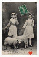 08652-LE-23-Au Pays Creusois-Anni Friquet Et Friquetto Vequi L'houro De Nous Nana-----folklore-jeunes Filles Et Moutons - Unclassified