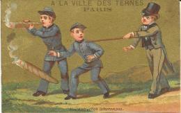 CROMOLITOGRAFIA A LA VILLE DES TERNES PARIS - Cromo