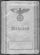 Deutschland, Germany - Wehrpaß Von 1939 Aus Hamburg ! - Historische Dokumente