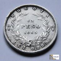 Colombia - 1 Peso - 1865 - Kolumbien