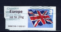 GREAT BRITAIN  -  2012  Post And Go Label  Used As Scan - Great Britain