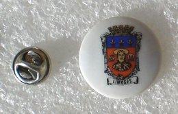 BLASON DE LIMOGES PIN'S PORCELAINE         ZZZ   013 - Villes