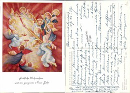 77180,Advent Engel Kerzen I. Schricker - Engel