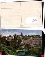77270,Luxembourg Luxemburg Alzette Au Pled Rochers Bock - Ansichtskarten