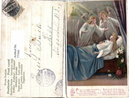 77166,Engel Am Krankenbett Elterngrab - Engel