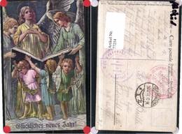 77254,Neujahr Engel Singen Bibel Buch - Engel