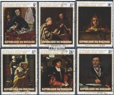 Burundi 1109A-1114A (complète.Edition.) Oblitéré 1974 Peintures - 1962-69: Oblitérés