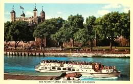 LONDRES      BATEAU DE LA TAMISE - River Thames