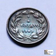 Venezuela - 1/4 Centavo - 1843 - Venezuela
