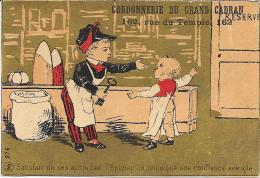 CROMOLITOGRAFIA A LA CORDONNERIE DU GRAND CADRAN PARIS - Cioccolato