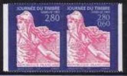 France Philatélie N° 2991.A ** Journée Du Timbre 1996 - Paire De La Semeuse De Roty - Tag Der Briefmarke