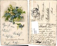 79141,EAS 5658 Namenstag Blumen Vase Schneeglöcklein - Fotografie