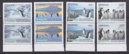 Greenpeace 1997 Mongolia 4v (pair)  Penguins   ** Mnh (31294A) - Poolshepen & Ijsbrekers