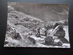 TIGNES L'ancien Village Submergé. Le Chef-lieu  Photo Années 50 - Otros Municipios