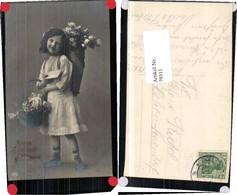 79311,EAS Mädchen Blumenkorb Brief Rosen - Fotografie