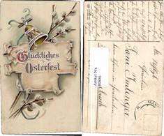 80886,EAS Gold Druck Ostern Glocke Palmkätzchen SCHÖN - Fotografie
