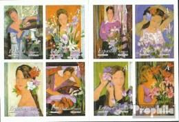 Espagne Mh0-14 (complète.Edition.) Carnet De Timbres (33865A-3872A) Neuf Avec Gomme Originale 2003 Le Femme Et Le Fleur - 1931-Heute: 2. Rep. - ... Juan Carlos I