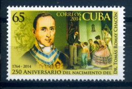 Cuba 2014 / Dr. Tomas Romay  MNH / C8632   3 - Nuevos