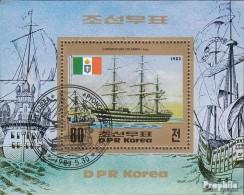 Nord-Corée Block144 (complète.Edition.) Oblitéré 1983 Navires - Korea (Nord-)