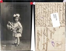 60912,EAS Namenstag Süsses Kind Mädchen Blumen - Fotografie