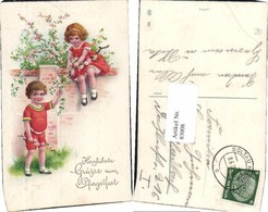 83008,EAS 880 Süsse Kinder Elly Frank Stil Pfingsten Blumen Baum - Fotografie