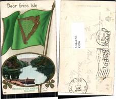 83006,Killarney Waters Präge Engel Harfe Metamorphose - Engel