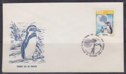 Peru 1985 Antarctica / Penguin / Fauna 1v FDC (31306) - Peru