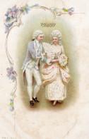 4794. CPA ILLUSTRATEUR. COUPLE MARQUIS ET MARQUISE - Illustrateurs & Photographes