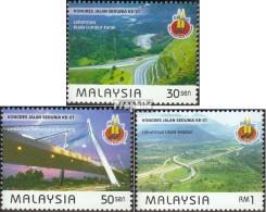 Malaisie 804-806 (complète.Edition.) Neuf Avec Gomme Originale 1999 De Routes - Malaysia (1964-...)