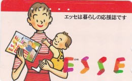 Japan, 110-011-lady-0617, Card Number 379, Esse, Woman And Child. - Japan
