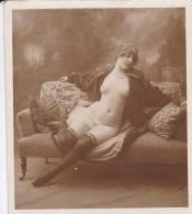 Mini Photo --FEMME NUE ---(érotique Charme Seins Nus)--voir 2 Scans - Photographie