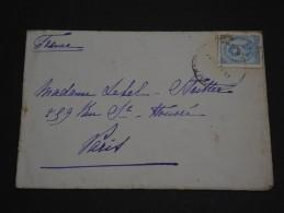 PORTUGAL - Env Pour Paris - 1891 - A Voir - P19539 - Cartas