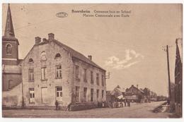 Boorsheim: Gemeentehuis En School. - Maasmechelen