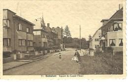 31. BOITSFORT : Square Du Castel Fleuri- RARE CPA - Watermael-Boitsfort - Watermaal-Bosvoorde