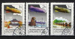 UNGHERIA - 1981 - ESPOSIZIONE MODIALE DI AEROFILATELIA - USATI - Posta Aerea