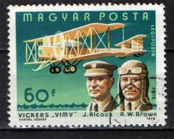 UNGHERIA - 1978 - AVIATORI CELEBRI - USATO - Posta Aerea