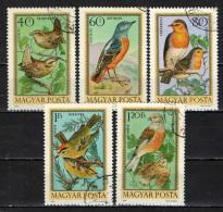 UNGHERIA - 1973 - UCCELLI - BIRDS - USATI - Posta Aerea