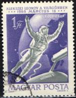 UNGHERIA - 1965 - ALEXEL LEONOV NELLO SPAZIO - USATO - Posta Aerea