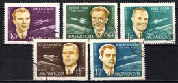 UNGHERIA - 1962 - ASTRONAUTI FAMOSI - USATI - Posta Aerea