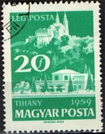 UNGHERIA - 1959 - LAGO BALATON - USATO - Posta Aerea
