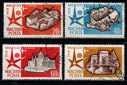 UNGHERIA - 1958 - ESPOSIZIONE UNIVERSALE DI BRUXELLES - USATI - Posta Aerea