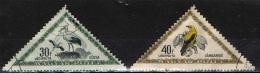 UNGHERIA - 1952 - UCCELLI - BIRDS - USATI - Posta Aerea
