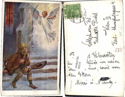 89319,J. Fischer Engel Frau Tolle Karte - Engel
