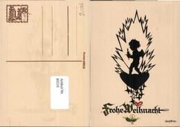 89235,Scherenschnitt Plischke 7 Engel Weihnachten - Scherenschnitt - Silhouette