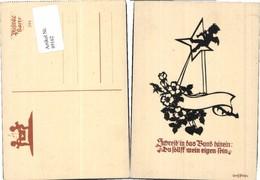 89162,Plischke Scherenschnitt 244 Engel Spruch Trompete - Scherenschnitt - Silhouette