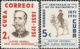 Cuba 433-434 (complète.Edition.) Neuf Avec Gomme Originale 1954 Jos Maria Rodriguez - Kuba