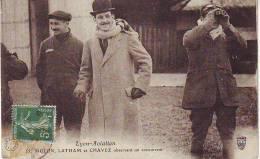 55 - LYON AVIATION - MOLON LATHAM ET CHAVEZ Observant Un Concurrent - Riunioni