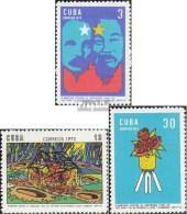 Cuba 1770-1772 (complète.Edition.) Neuf Avec Gomme Originale 1972 Conférence Contre La Guerre De Vietnam - Cuba