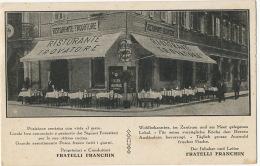 Trieste Ristorante Trovatore Via Mercato Vecchio 3 Lloyd Fratelli Franchin Pub Cinzano - Trieste (Triest)