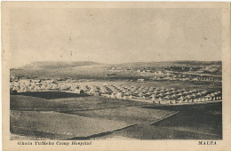 Malta Ghain Tuffieha Camp Hospital  Edit Critien Valletta WWI Guerre 1914 - Malte